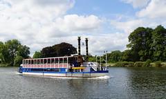 river boat kingston (boggled) Tags: england boat kingston riverboat riverthames kingstonuponthames sonya5100