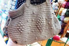 Quality matters!! (sifis) Tags: art wool bag lumix athens panasonic greece handknitting lx7 sakalak sakalakwool