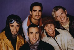 Backstreet Boys era (BoysOnTheBlock.com) Tags: red people musician music orange brown white black color men hat smiling dreadlocks portraits goatee sweater clothing gray goggles beards few jacket blond americans males prominentpersons singers celebrities whites facialhair turtleneck mustache multicolored adults hairstyle backstreetboys leatherjacket eyewear nickcarter headgear facialexpression youngadults headandshouldersportraits headandshouldersstudioportraits studioportraits kevinrichardson outerwear popularmusic protectiveclothing ajmclean brianlittrell howiedorough