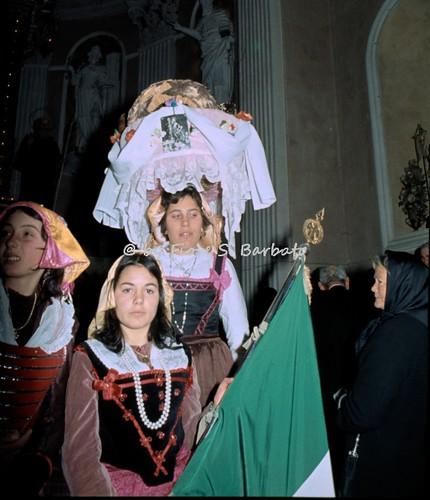 Cocullo (AQ), 1974, La festa dei serpari.