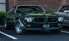 1973 Pontiac Trans Am (scott597) Tags: ohio green am 2nd pontiac trans gen nationals 1973 dayton nats 455 2015