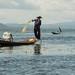 Pescador, Lago Inle - Myanmar