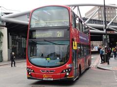 London Central - LX59 CZT (BigbusDutz) Tags: london central wright gemini elipse czt lx59