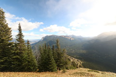 Wind ridge hike on a very windy day, it sure lived up to it's name today (davebloggs007) Tags: canada kananaskis wind hike ridge alberta
