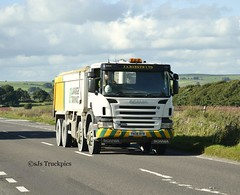 Scania P380,J.A Barker Ltd. (SJS Truck & Transport Photography.) Tags: tarmac transport vehicles trucks scania wagons lafarge commercials lorries tippers haulage hgvs jabarkerltd