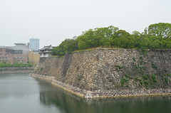 DSC_1332 (My many travels) Tags: castle japan  osaka moat