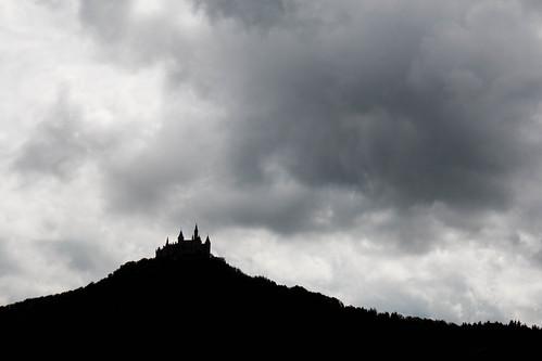 Vue sur le château de Hohenzollern à Hechingen