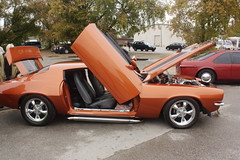 Cinderella's Classic Car show 18 (codie_horse) Tags: ontario canada fall cars october outdoor overcast trucks classiccars portelgin 2015 pumpkinfest differentangle differentcolours differntviews 1990orolder cinderellasclassiccarshow