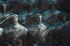 The Brigade (zzra) Tags: sculpture statue soldier army hungary communist