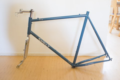 Surly Pacer, Soma fork, Fairweather/Nitto Stem, Grand Bois decaleur (immu) Tags:
