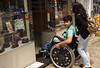 Cadeirante (PortalJornalismoESPM.SP) Tags: cadeiraderodas degrau acessibilidade cadeirante