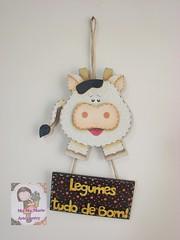 Penduricalho vaquinha (Ma Ma Marie Artcountry) Tags: cozinha vaca vaquinha penduricalho pinturacountry dunaatelie