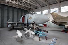 F4 Phantom Jet (SKAC32) Tags: aeroplane duxford missile phantom f4 cambridgeshire jetfighter eastanglia minigun mcdonnell ordnance imperialwarmuseum mcdonnelldouglas foldedwings tokinaaf1116mmf28