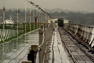 Hythe Pier in the Rain