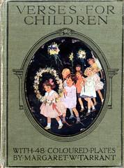 Verses for Children front cover (katinthecupboard) Tags: parade poems mayday margaretwtarrant vintagechildrensillustrations vintagechildrenspoetry tarrantmargaretw