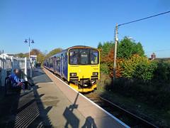 150102 Gunnislake (15) (Marky7890) Tags: station train cornwall railway gwr sprinter dmu tamarvalleyline fgw class150 gunnislake 150102 2g74
