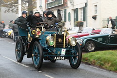 Bonhams 2015 London to Brighton Veteran Car Run (davidseall) Tags: uk west london car vintage sussex brighton run veteran et 170 panhard 1902 2015 bonhams levassor staplefield aa161