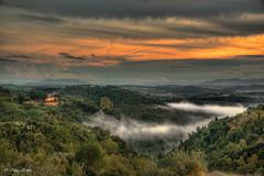 Toskana - 13101503 (Klaus Kehrls) Tags: italien panorama nebel natur himmel wolken berge toscana landschaft toskana täler