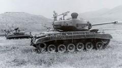 M26 Pershing, M24 Chaffee and M8 Greyhound (Bro Pancerna) Tags: greyhound tank m8 medium pershing chaffee m24 m26