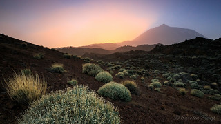 Sunset Teide