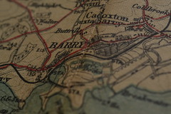 Barry (mitchell_dawn) Tags: macro map antique cartography macromondays johnbartholomewco gwbaconco oldestobjectyoucanfind