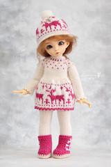Outfit for YoSD (Maram Banu) Tags: winter doll handmade bjd fairyland deers ante yosd littlefee fairystyle marambanu