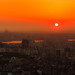 Seoul+skyline+at+sunset
