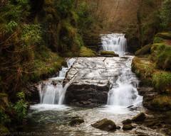 Hoaroak water (R.Price) Tags: copyrightrichardprice devon eastlyn exmoor hoaroakwater river waterfall watersmeet