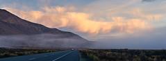 fog flowing along highway 395 (aidong_ning) Tags: easternsierra highway395 fog clouds sunrise