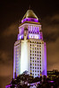 Los Angeles City Hall (Thomas Hawk) Tags: america california cityhall losangeles losangelescityhall usa unitedstates unitedstatesofamerica purple fav10 fav25 fav50