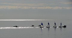sur une mer d'huile (b.four) Tags: kayak voilier mer sea mare sail boat barcaavela cagnessurmer alpesmaritimes ruby3