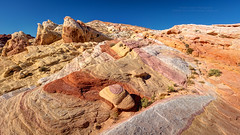 Valley of Fire Rainbow Vista (PIERRE LECLERC PHOTO) Tags: valleyoffire nevada rainbowvista colorful colorfullandscape landscape nature naturalbeauty naturalwonders rocks sandstone eye desert lasvegas travel adventure hiking backcountry layers pierreleclercphotography 5dsr southwestusa