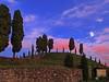 IMG_2489 f3 (pinktigger) Tags: sunset moon hill trees fagagna feagne friuli italy italia