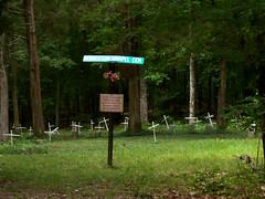 Henderson Chapel Cemetery (~ Lone Wadi ~) Tags: graveyard headstones tombstones gravestones creepy lonesome remote formerslaves lyoncounty kentucky africanamerican abandoned landbetweenthelakes landbetweentherivers lbl