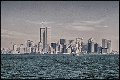 WTC: Somewhere in the Middle (misterperturbed) Tags: newyork worldtradecenter manhattan twintowers