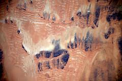Wind-sculpted dunes (Thomas Pesquet) Tags: dunes wind sahara
