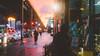 Light watching. (Linh H. Nguyen) Tags: sunset brooklyn light sky clouds newyork street life a7r widescreen 16x9 bokeh