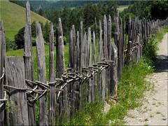 HFF  - Happy  Fence Friday (Ostseetroll) Tags: geo:lat=4683073276 geo:lon=1177638861 geotagged ita italien südtirolaltoadige terenten terento zaun fence hff