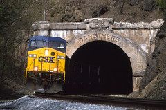 BO1117 (ex127so) Tags: csx tunnel paw wv magnolia cut off 1996 cw44ac carothers