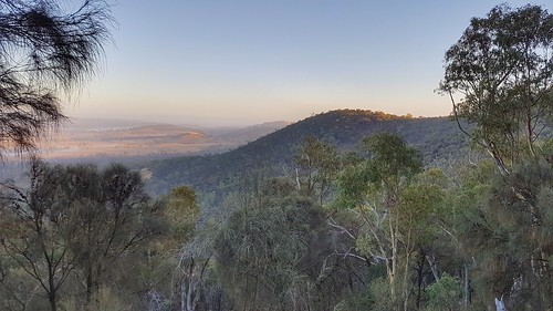 Mount Majura at dawn
