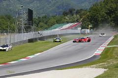 _FE13421 (Foto Massimo Lazzari) Tags: ferrari ferrarichallenge racer crash mugellocircuit
