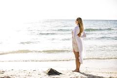 Saluting the Sun (Caramel Kisses Photography) Tags: yoga sunset beach pose vinyasa flow waves sand wind water sky highkey adelaide southaustralia australia rock canon photoshoot