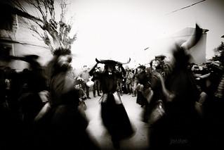 Diablo bailando - Devil dancing