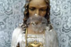 Kiss (chrisglass) Tags: cincinnati jesus kiss lips window