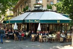Les Deux Magots, 2004 (artandscience) Tags: digital dc290 paris cafe