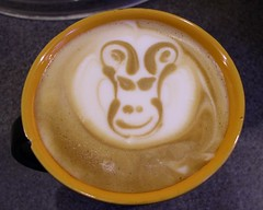 P2190055 (DBTabasco) Tags: latteart spasso barista latte face