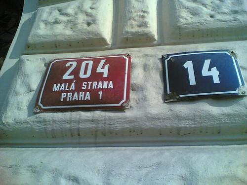 Numeraci�n en Praga