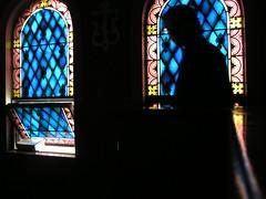 Silhouette (phool 4  XC) Tags: blue catchycolors colours christian seminary orthodox orthodoxchristian holyweek sttikhons  phool4xc