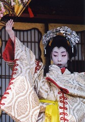 Kabuki actor 6 (転倒虫) Tags: people japan nagahama kabuki boy actor