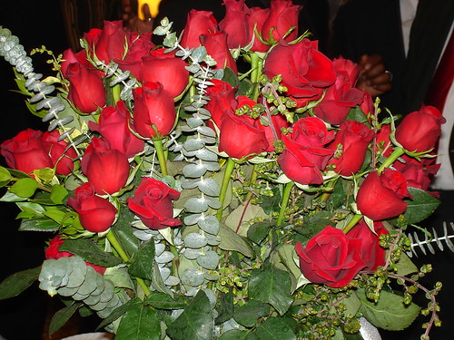 A rose for each year of life and love